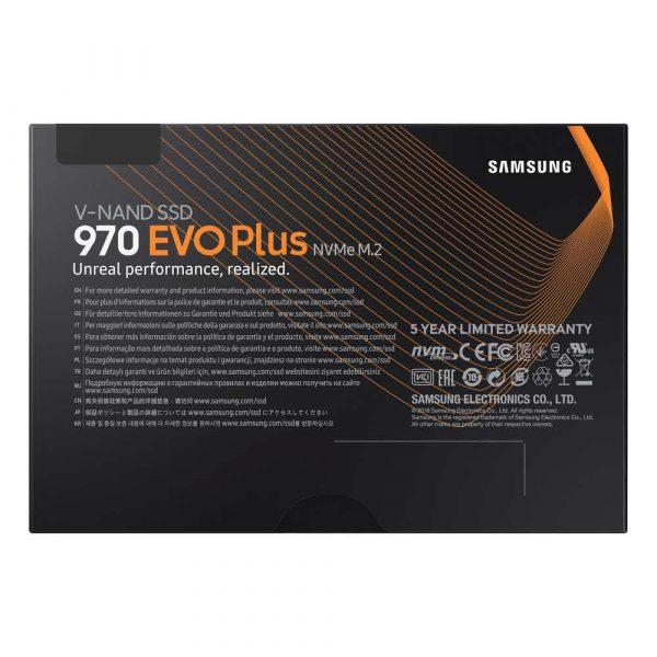 dyski 7 alibiuro.pl Dysk Samsung 970 EVO Plus MZ V7S250BW 250 GB M.2 PCIe NVMe 3.0 x4 77