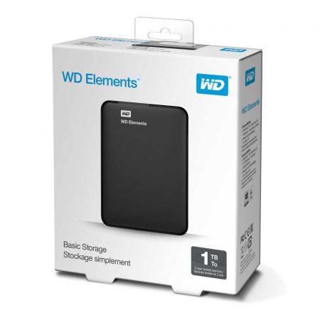 dyski zewnętrzne 7 alibiuro.pl Dysk zewntrzny HDD WD Elements Portable WDBUZG0010BBK WESN 1 TB 2.5 Inch USB 3.0 5400 obr min kolor czarny 4