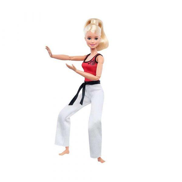 dziecko 7 alibiuro.pl Lalka Barbie mistrzyni sztuk walki MATTEL Barbie Mistrzyni Sztuk Walki DWN39 Od 3 lat 79