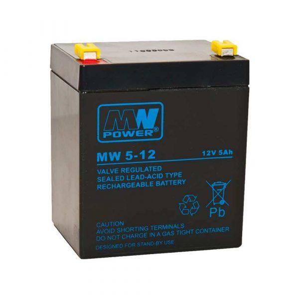 elektronika 7 alibiuro.pl Akumulator MPL POWER ELEKTRO MW 5 12L 12V 5Ah 23