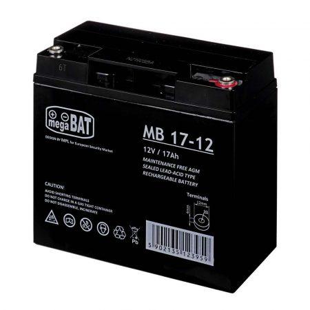 elektronika 7 alibiuro.pl Akumulator UPS MPL POWER ELEKTRO VRLA MB 17 12 12V DC 17000mAh 19