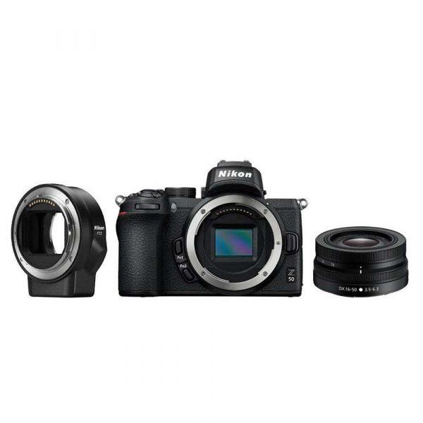 elektronika 7 alibiuro.pl Aparat bezlusterkowy Nikon Z50 VOA050K004 APS C 41