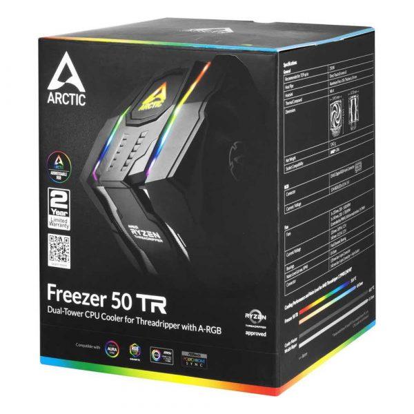 elektronika 7 alibiuro.pl Chodzenie CPU Arctic Freezer 50 TR W ARGB Control 79