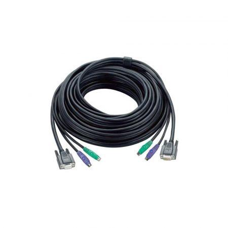 elektronika 7 alibiuro.pl Kabel ATEN 2L 1010P PRZED 10m D Sub VGA PS 2 M 2x PS 2 D Sub VGA F kolor czarny 14