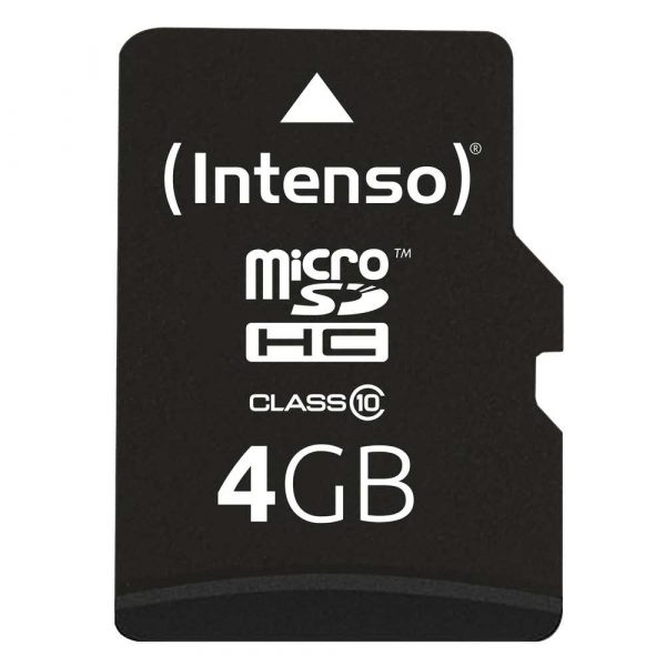 elektronika 7 alibiuro.pl Karta pamici INTENSO 3413450 4GB Class 10 Adapter 75