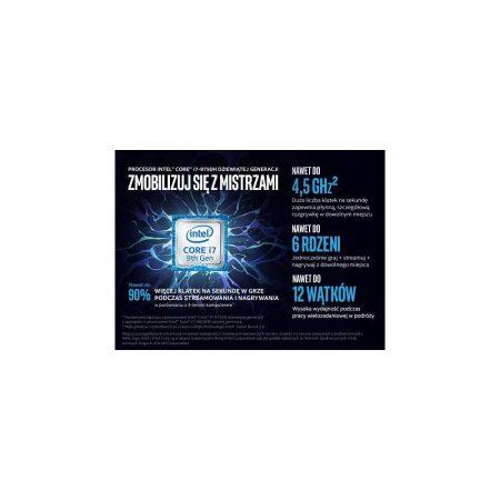 elektronika 7 alibiuro.pl MSI 9SF 071PL i7 9750H 15.6 Inch FHD 240Hz Thin Bezel 16GB DDR4 2666MHz 512GB NVMe PCIe Gen3x4 SSD RTX 2070 8GB Windows 10 Home Advanced without ODD 35