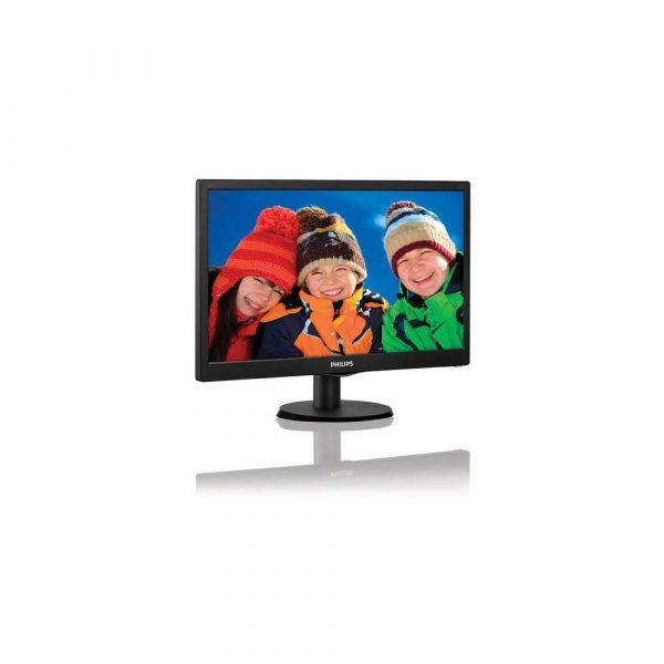 elektronika 7 alibiuro.pl Monitor Philips 203V5LSB26 10 19 5 Inch TN 1600x900 VGA kolor czarny 75