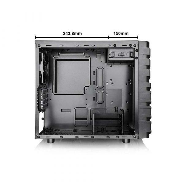 elektronika 7 alibiuro.pl Obudowa Thermaltake Versa H13 CA 1D3 00S1NN 00 Micro ATX Mini ITX kolor czarny 4