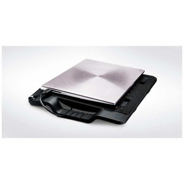 elektronika 7 alibiuro.pl Podstawka chodzca pod laptop Cooler Master Notepal Ergostand III R9 NBS E32K GP 17.x cala 1 wentylator HUB 71