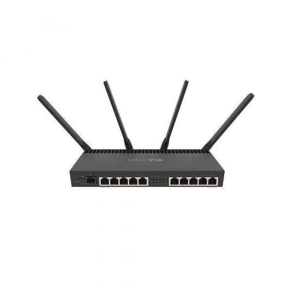elektronika 7 alibiuro.pl Router MikroTik RB4011iGS 5HacQ2HnD IN 10x 10 100 1000Mbps 50