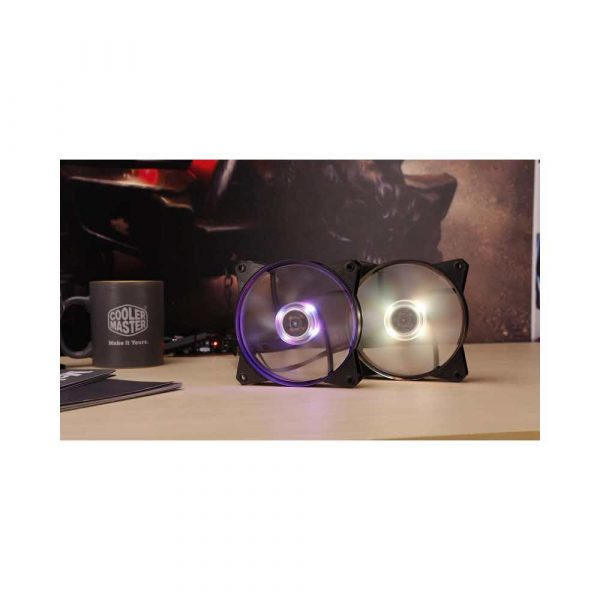 elektronika 7 alibiuro.pl Wentylator Cooler Master Masterfan 120r RGB R4 C1DS 12FC R2 120 mm 1200 obr min RGB 11