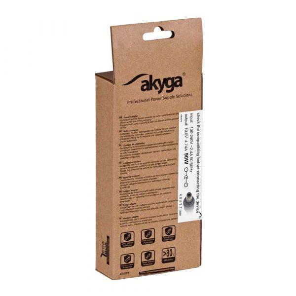 elektronika 7 alibiuro.pl Zasilacz sieciowy Akyga AK ND 08 do notebooka Compaq HP 19 V 4 74 A 90W 4.8 mm x 1.7 mm 93