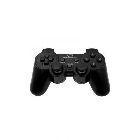 gaming 7 alibiuro.pl Gamepad Esperanza EG102 PC PS3 kolor czarny 34