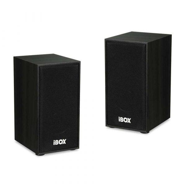 głośniki i zestawy głośnikowe 7 alibiuro.pl Zestaw gonikw IBOX IGLSP1B 2.0 ciemne drewno 42