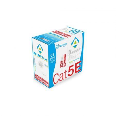 kable i wtyki 7 alibiuro.pl Kabel sieciowy A LAN STRONG drut KIU5STR305 UTP 305m kat. 5e kolor szary 76