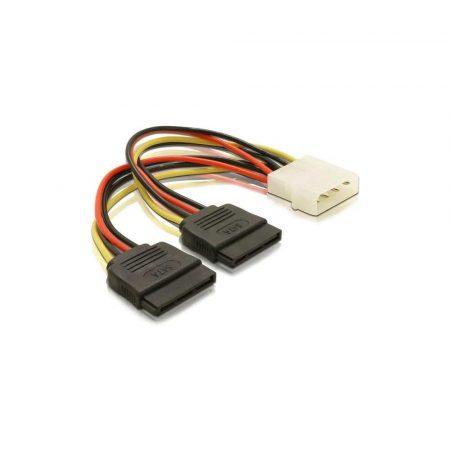kable molex 7 alibiuro.pl Kabel DELOCK 60102 Molex 4 pin SATA 33