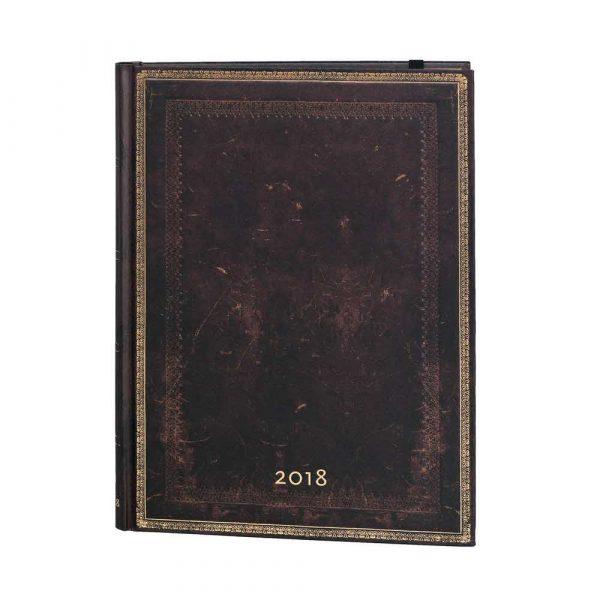 kalendarz 7 alibiuro.pl Kalendarz paperblanks 2018 Black Moroccan Ultra kolor brzowy 12