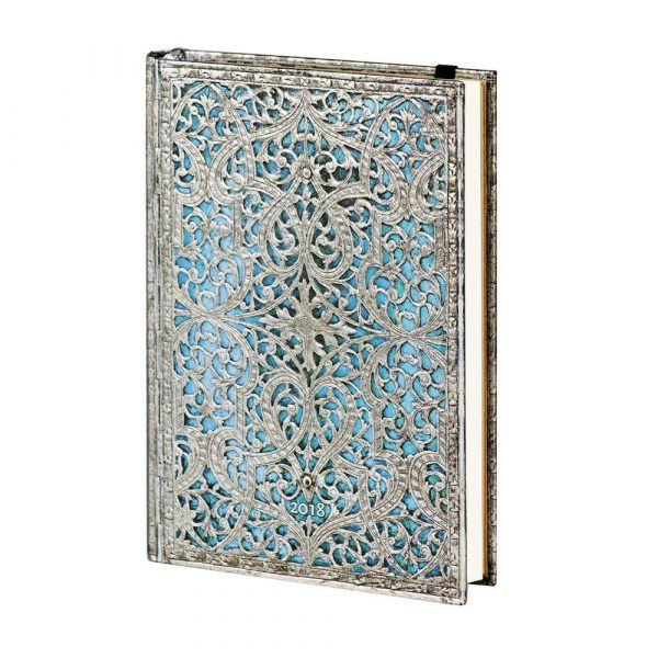 kalendarz 7 alibiuro.pl Kalendarz paperblanks 2018 Maya Blue Midi kolor niebieski 90