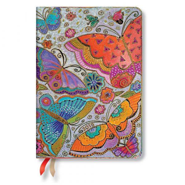 kalendarze 7 alibiuro.pl Kalendarz paperblanks 2019 Flutterbyes Midi wielokolorowy 3