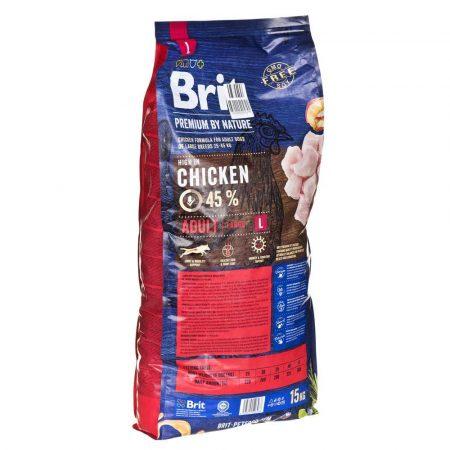 karma dla psów 7 alibiuro.pl Karma Brit Premium By Nature Adult L 15 kg 52