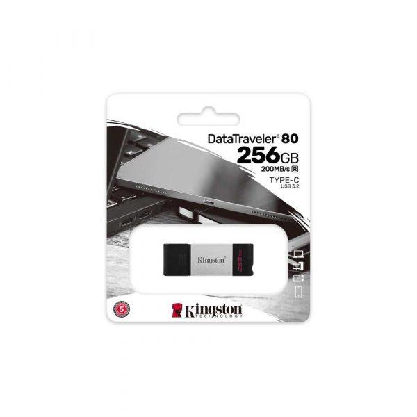 karty sd xc 7 alibiuro.pl KINGSTON FLASH 256GB USB C 3.2 Gen 1 DT80 256GB 54