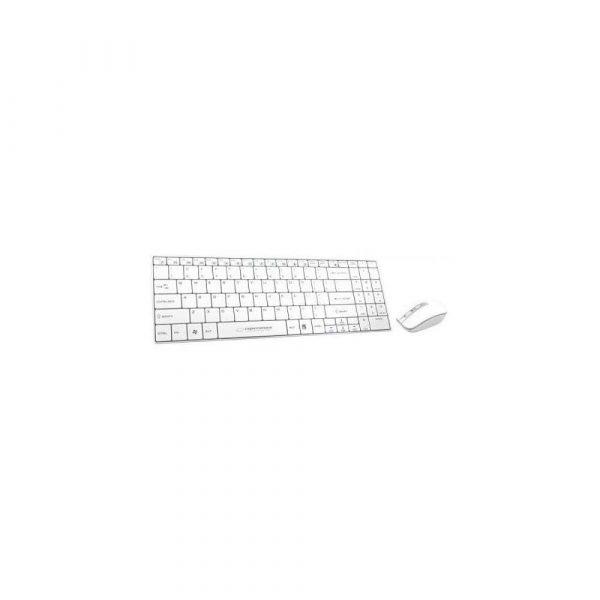 klawiaturowe zestawy z myszą 7 alibiuro.pl Zestaw klawiatura mysz Esperanza EK122W USB 2.0 kolor biay laserowa 6