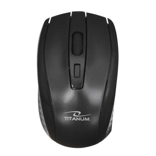 klawiaturowe zestawy z myszą 7 alibiuro.pl Zestaw klawiatura mysz TITANUM AKRON TK109 USB 2.0 kolor czarny optyczna 1600 DPI 0