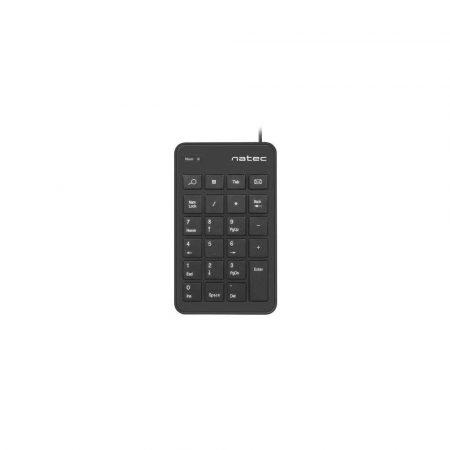 klawiatury do komputera 7 alibiuro.pl Klawiatura Numeryczna NATEC Goby NKL 1333 USB 2.0 kolor czarny 80