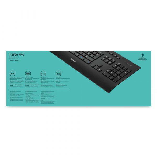 klawiatury komputerowe 7 alibiuro.pl Klawiatura Logitech 920 005217 USB 2.0 kolor czarny 31