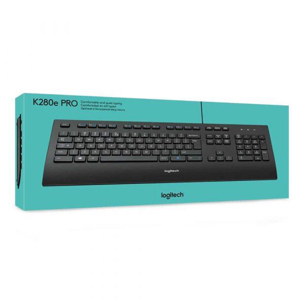 klawiatury komputerowe 7 alibiuro.pl Klawiatura Logitech 920 005217 USB 2.0 kolor czarny 63