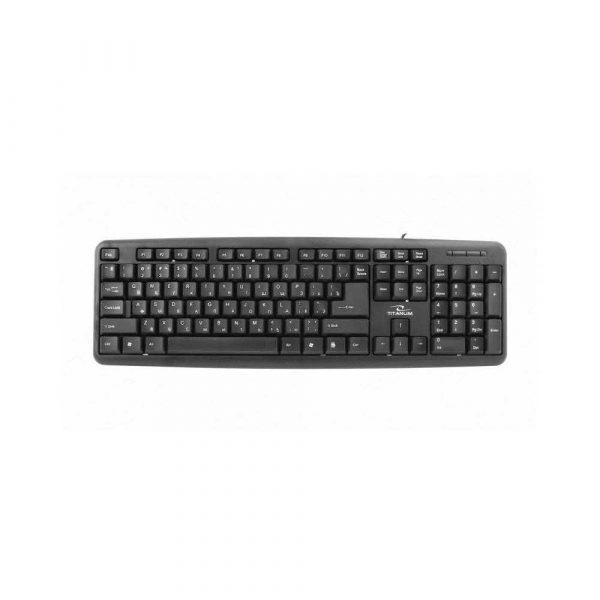 klawiatury komputerowe 7 alibiuro.pl Klawiatura TITANUM TKR101 USB 2.0 RU kolor czarny 46