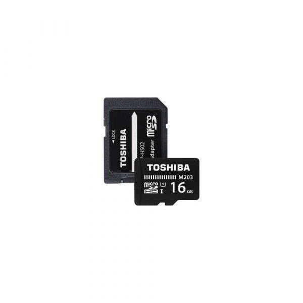 komputery 7 alibiuro.pl Karta pamici Toshiba M203 THN M203K0160EA 16GB Class 10 Adapter 18