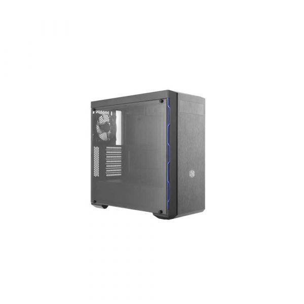 komputery 7 alibiuro.pl Obudowa Cooler Master Masterbox MB600L Blue MCB B600L KA5N S01 ATX Micro ATX Mini ATX kolor czarny 75