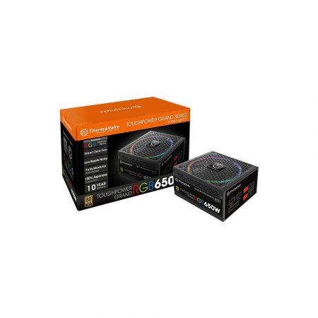 komputery 7 alibiuro.pl Zasilacz Thermaltake Toughpower Grand RGB 650W PS TPG 0650FPCGEU R 650 W Aktywne 140 mm 3