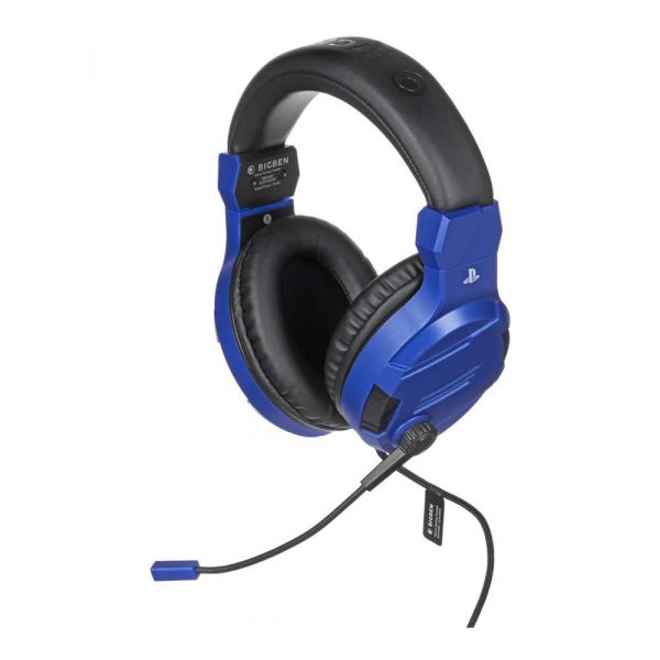 konsole i kontrolery 7 alibiuro.pl BIG BEN Stereo Gaming Headset do PS4 niebieski 50