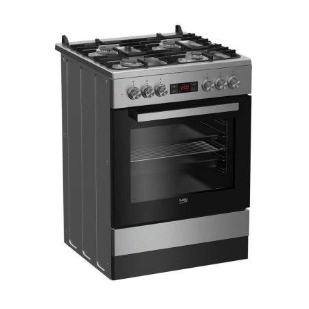 kuchnie wolnostojące 7 alibiuro.pl Kuchnia Beko FSM62332DXT Pyta gazowa Piekarnik elektryczny 600mm 54