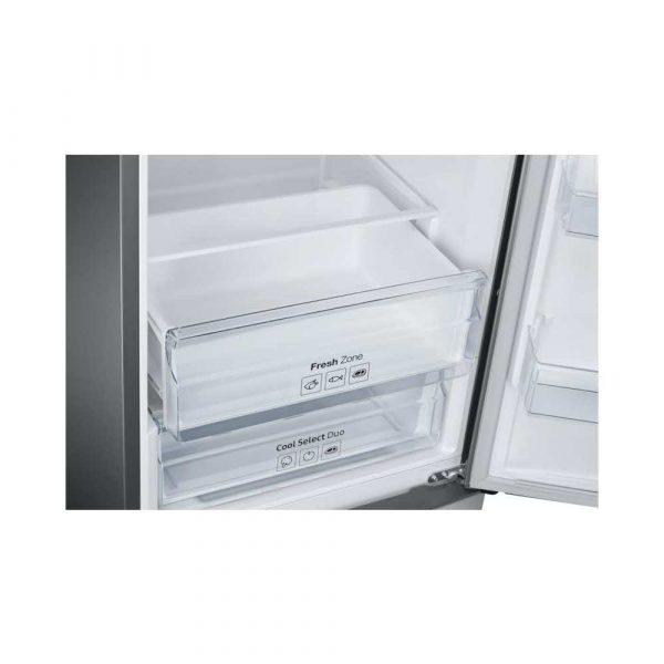 lodówki wolnostojące 7 alibiuro.pl Lodwka Samsung RB37J501MSA EF 595mm x 2010mm x 675 mm 255 l Klasa A kolor inox 90