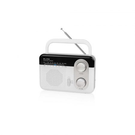 magnetofony 7 alibiuro.pl Radio przenone BLOW RA1 77 530 kolor biay 98