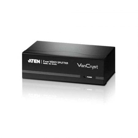 materiały biurowe 7 alibiuro.pl Adapter ATEN VS 132A D Sub VGA 2x D Sub VGA 55