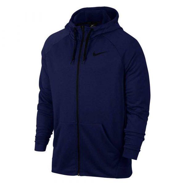materiały biurowe 7 alibiuro.pl Bluza mska Nike Dry Hoodie FZ Fleece granatowa 860 72