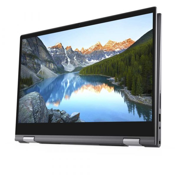 materiały biurowe 7 alibiuro.pl Dell Inspiron 5400 2in1 i7 1065G7 14.0 Inch FHD Touch 12GB 512GB Iris FgrPr Backlit W10H Gray 1YCAR 1BWOS 72