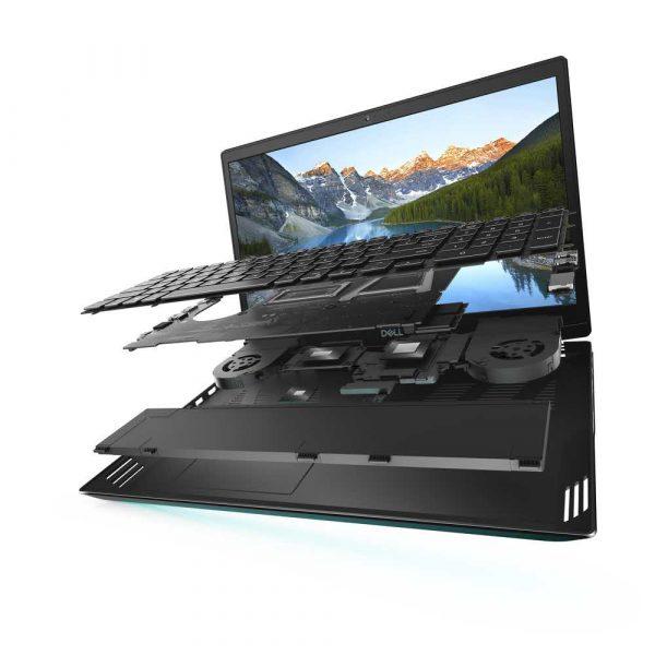 materiały biurowe 7 alibiuro.pl Dell Inspiron G5 i5 10300H 15.6 Inch FHD 8GB 512GB GTX1650Ti FgrPr Backlit W10H Black 1YCAR 1BWOS 95