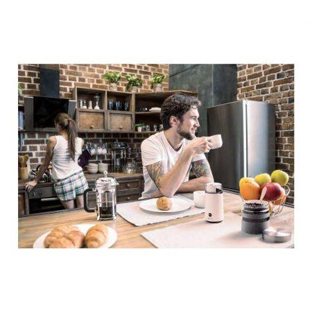 materiały biurowe 7 alibiuro.pl ELDOM MYNEK DO KAWY MK50 CAFF MOC 200 W N STALOWY PRZYCISK PULSACYJNY 79