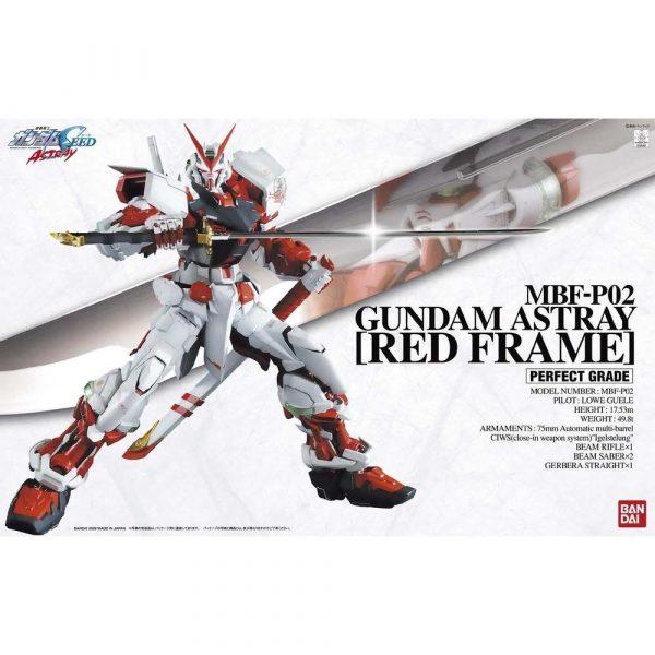 materiały biurowe 7 alibiuro.pl Figurka kolekcjonerska BANDAI 1 60 PG Gundam Astray Red Frame 15
