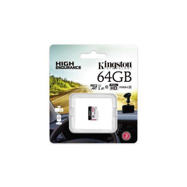 materiały biurowe 7 alibiuro.pl Karta pamici Kingston Endurance SDCE 64GB 64GB Class 10 Karta pamici 51