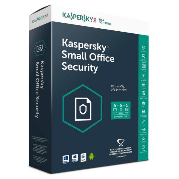 materiały biurowe 7 alibiuro.pl Kaspersky KSOS 5 5 stan. 12 miesicy BOX Komercyjna 65