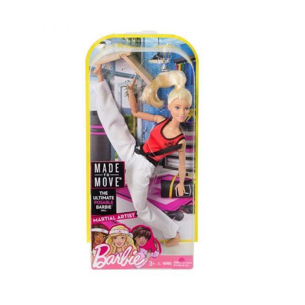 materiały biurowe 7 alibiuro.pl Lalka Barbie mistrzyni sztuk walki MATTEL Barbie Mistrzyni Sztuk Walki DWN39 Od 3 lat 13