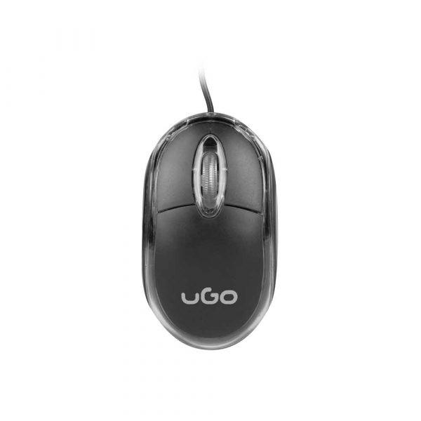 materiały biurowe 7 alibiuro.pl Mysz UGO Simple UMY 1007 optyczna 1000 DPI kolor czarny 69