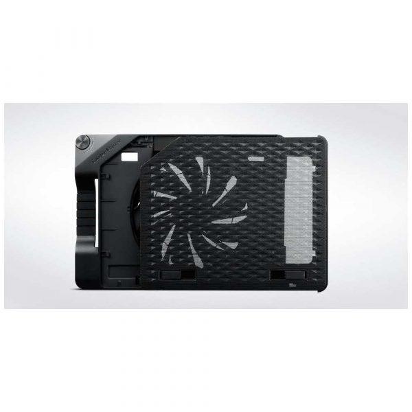 materiały biurowe 7 alibiuro.pl Podstawka chodzca pod laptop Cooler Master Notepal Ergostand III R9 NBS E32K GP 17.x cala 1 wentylator HUB 89