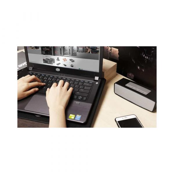 materiały biurowe 7 alibiuro.pl Podstawka chodzca pod laptop Cooler Master Notepal L2 MNW SWTS 14FN R1 17.x cala 1 wentylator 74